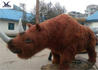 Large Animatronic Animals Artificial Models With Hair / Infrared Control Sensor